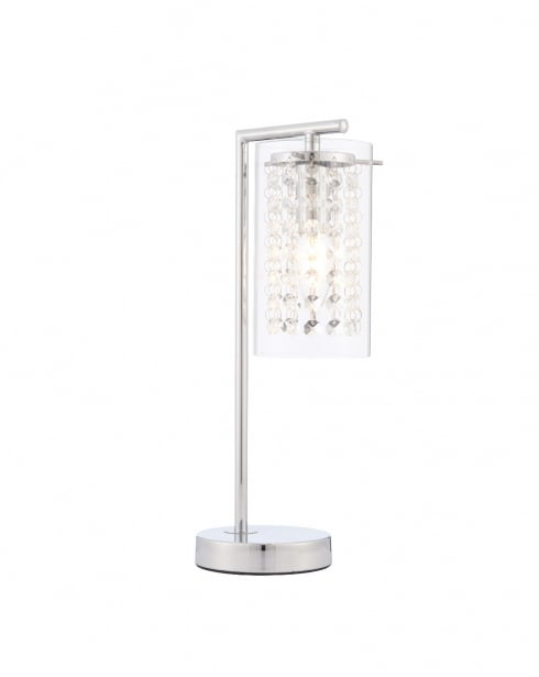 Endon Alda Modern Chrome Incidental Table Lamp 73749