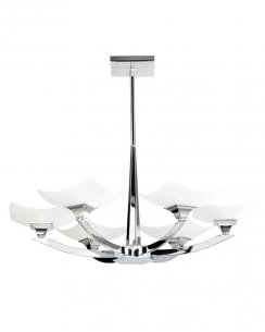 Endon Ayres 6 Light Traditional Semi-Flush Fitting AYRES-6CH