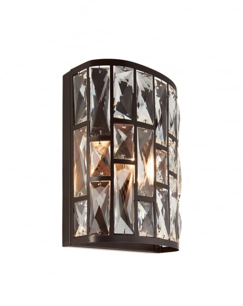 Endon Belle Modern Bronze Decorative Wall Light 69392
