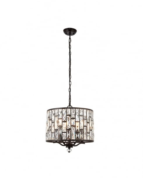 Endon Belle Modern Bronze Multi-Arm Pendant 69390