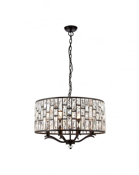 Endon Belle Modern Bronze Multi-Arm Pendant 69391