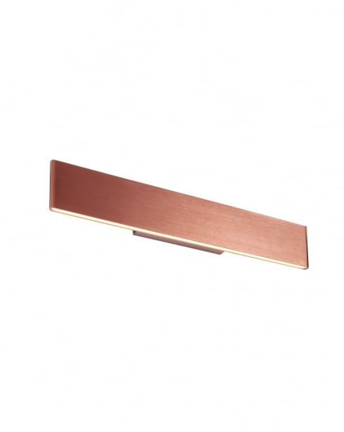 Endon Bodhi Modern Copper Decorative Wall Light 70122