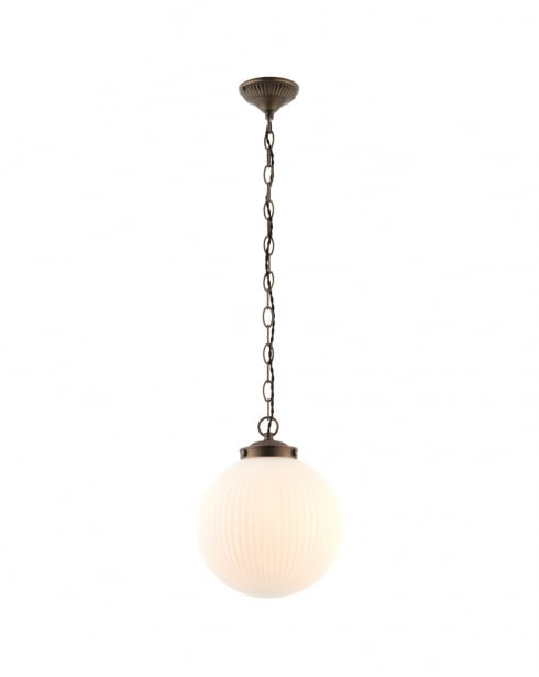 Endon Brydon Modern Bronze Pendant Light 72460