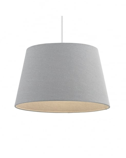 Endon Cici Modern Grey Shade Only 66204