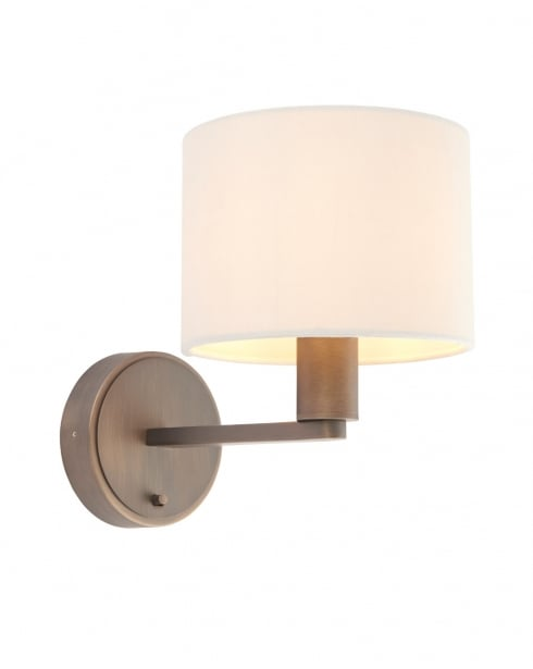 Endon Daley Modern Bronze Decorative Wall Light 73018