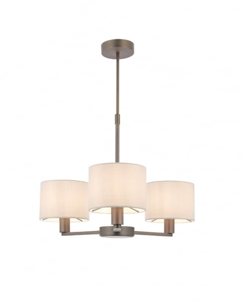 Endon Daley Modern Bronze Multi-Arm Pendant 73016