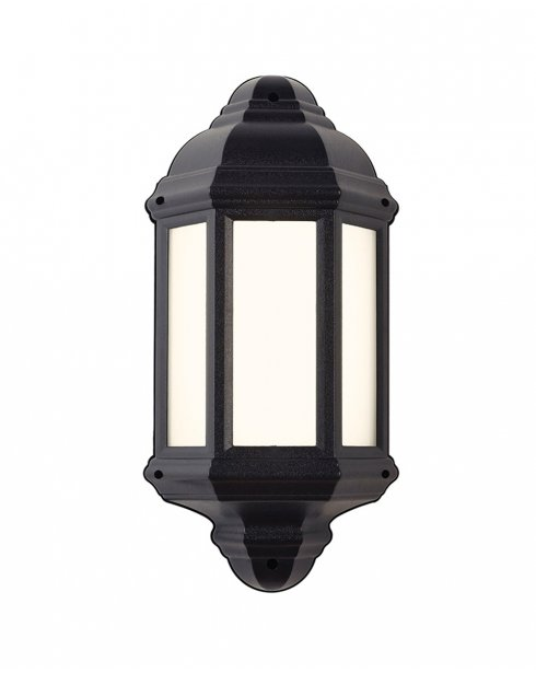 Endon EL-40114 Traditional Black Outdoor Wall Light IP44