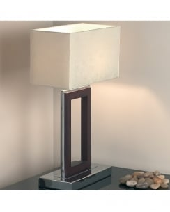 Endon 0195-DW Single Light Modern Incidental Table Lamp