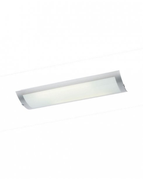 Endon 1405-67-PLCH 2 Light Modern Flush Ceiling Fitting