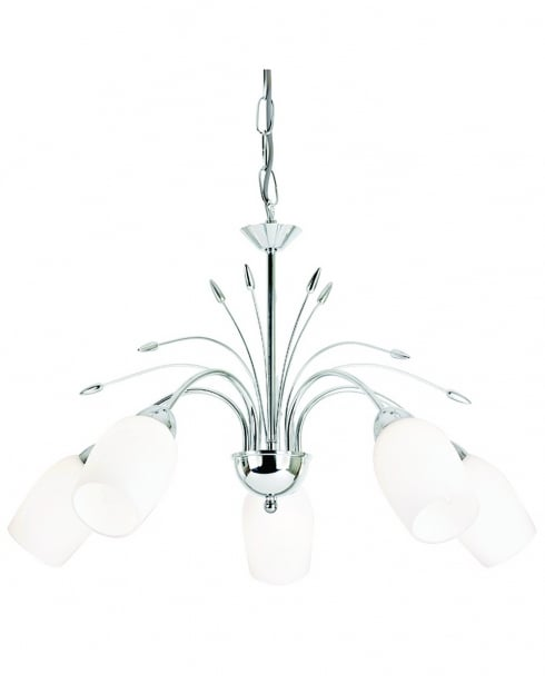 Endon 2007-5CH 5 Light Traditional Multi-Arm Pendant