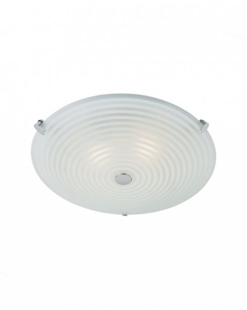 Endon 633-32 2 Light Modern Flush Ceiling Fitting
