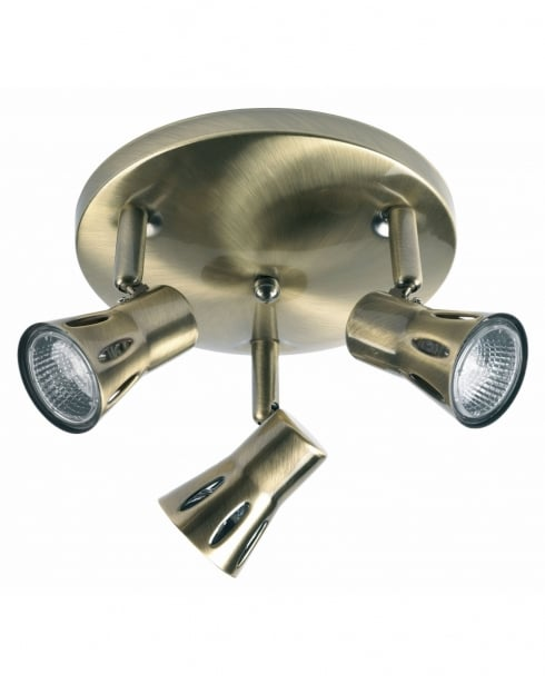 Endon 813-AN 3 Light Modern Spotlight Fitting