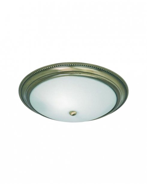 Endon 91121 2 Light Traditional Flush Ceiling Fitting