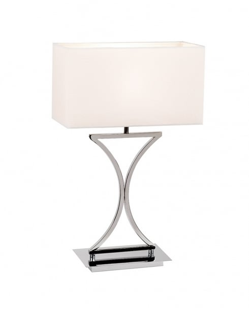 Endon 96930-TLCH Single Light Modern Incidental Table Lamp