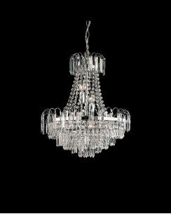 Endon Amadis 6 Light Crystal Chandelier 96826-CH