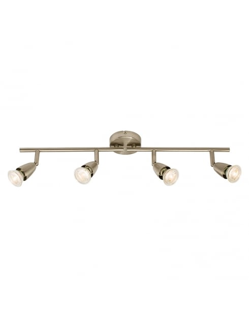 Endon Amalfi Modern Nickel Spotlight Fitting 60995