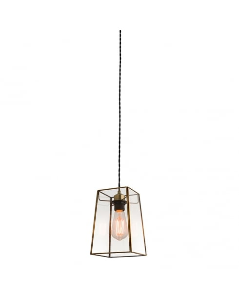 Endon Beaumont Modern Brass Non-Electric Pendant Shade 60892