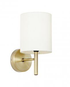 Endon Brio Single Light Modern Decorative Wall Light BRIO-1WBAB