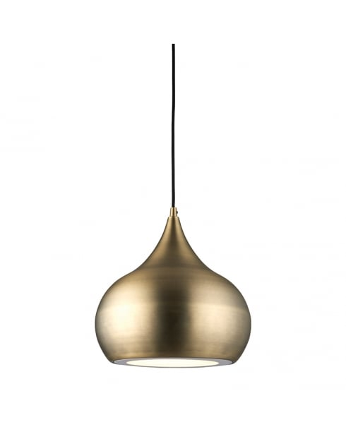 Endon Brosnan Modern Brass Pendant Light 61299