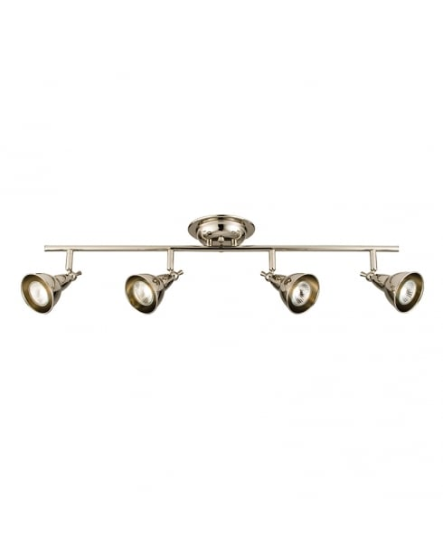 Endon Burbidge Modern Nickel Spotlight Fitting 59936
