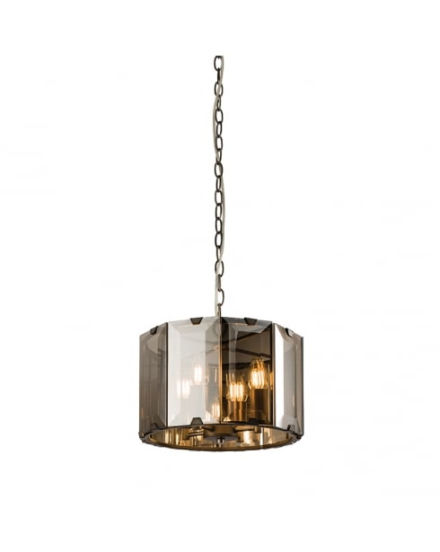 Endon Clooney Modern Grey Multi-Arm Pendant 61281