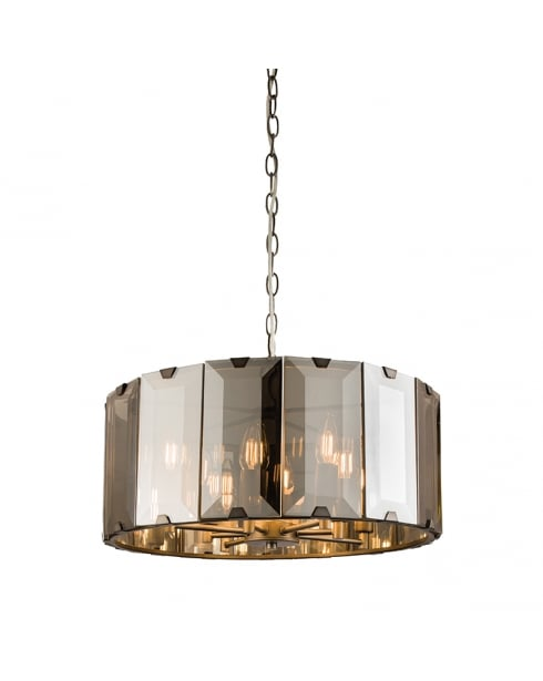 Endon Clooney Modern Grey Multi-Arm Pendant 61294
