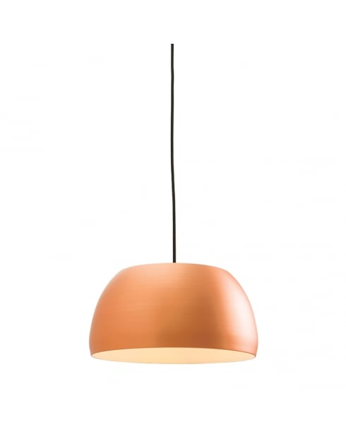 Endon Connery Modern Copper Pendant Light 61325