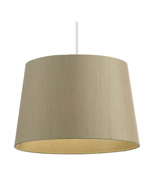 Endon Cordelia Gold Faux Silk Non-electric Shade CORDELIA-12GO-L