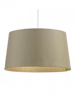 Endon Cordelia Gold faux Silk Non-electric Shade CORDELIA-16GO-L