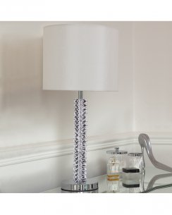 Endon Cortese Single Light Crystal Incidental Table Lamp CORTESE