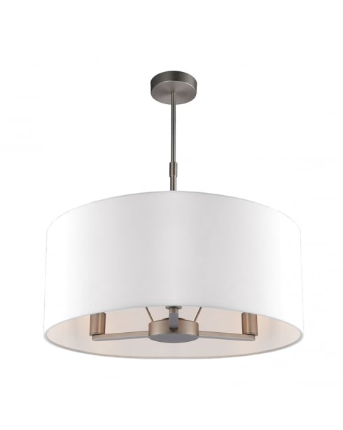 Endon Daley Modern Nickel Multi-Arm Pendant 60241