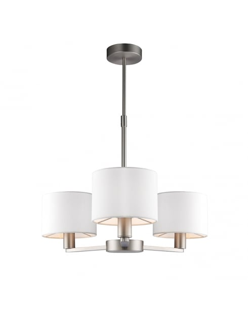 Endon Daley Modern Nickel Multi-Arm Pendant 60256