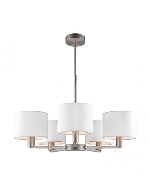 Endon Daley Modern Nickel Multi-Arm Pendant 60257
