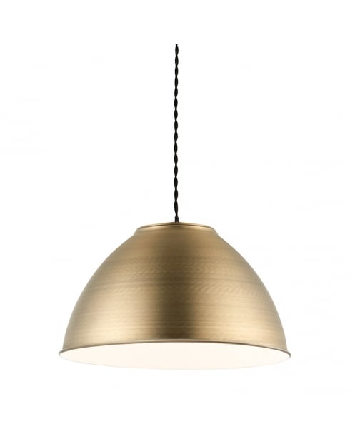 Endon Dench Modern Brass Non-Electric Pendant Shade 61330