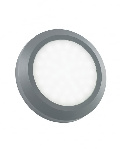 Endon EL-40108 Round LED Outdoor Wall Light IP65