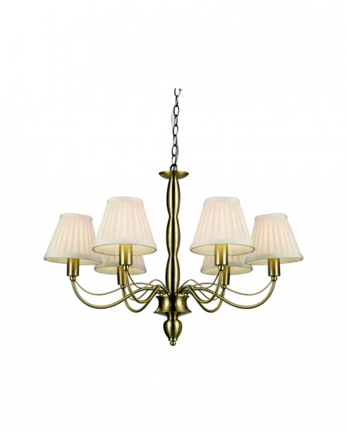 Endon 96986-AB Charleston 6 Light in Antique Brass