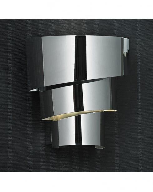 Endon Everett Single Light Modern Decorative Wall Light EVERETT-1WBCH