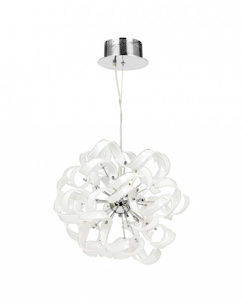 Endon Fonda 9 Light Modern Pendant Light FONDA-9WH