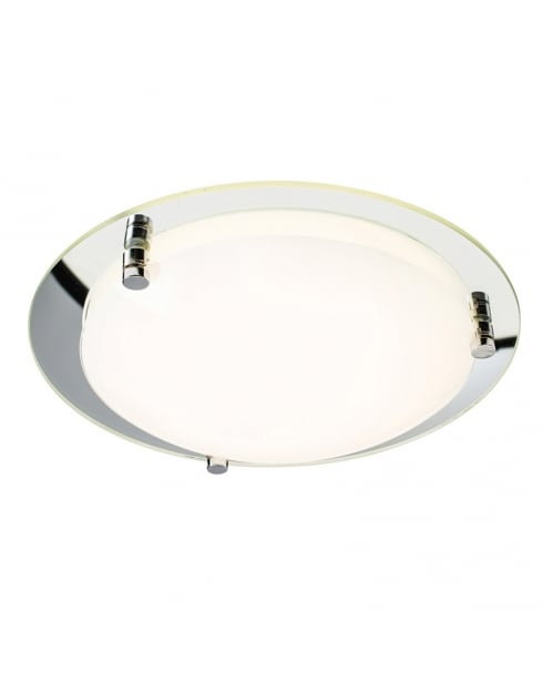 Endon Foster Modern Mirrored Flush Ceiling Fitting 61231