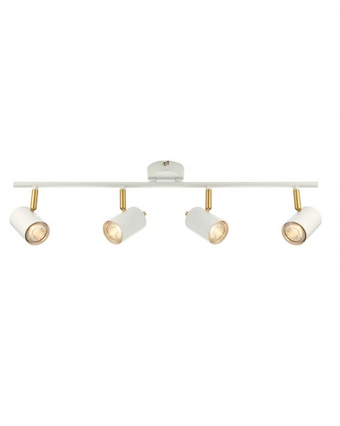 Endon Gull Modern White Spotlight Fitting 59933