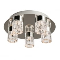 Endon Imperial Modern Chrome Bathroom Ceiling 61358