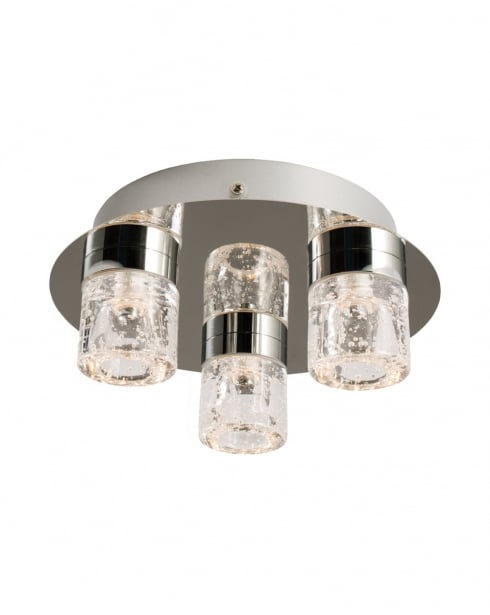 Endon Imperial Modern Chrome Bathroom Ceiling 61359