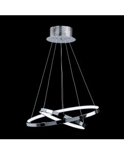 Endon Kline Single Light Modern Pendant Light KLINE-2CH