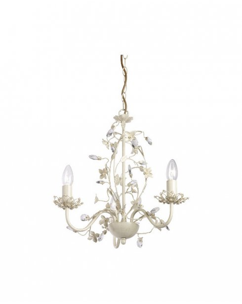 Endon Lullaby 3 Light Traditional Chandelier LULLABY-3CR