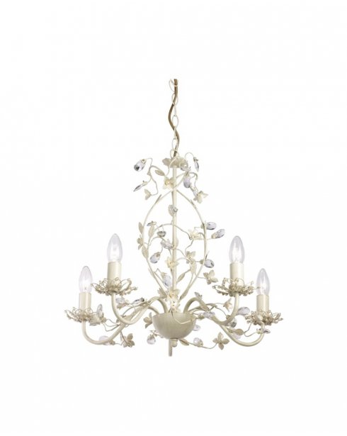 Endon Lullaby 5 Light Traditional Chandelier LULLABY-5CR