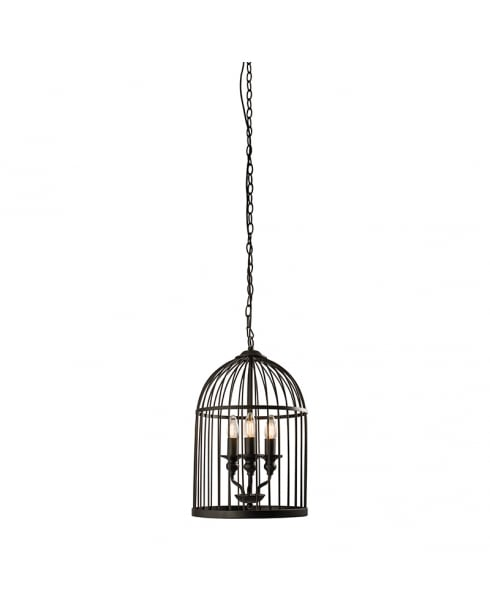 Endon Matthau Modern Black Multi-Arm Pendant 61021