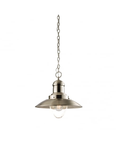 Endon Mendip Traditional Ivory Pendant Light 60799
