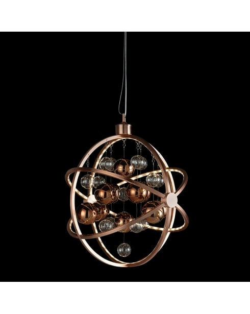 Endon Muni Modern Copper Pendant Light MUNI-CO