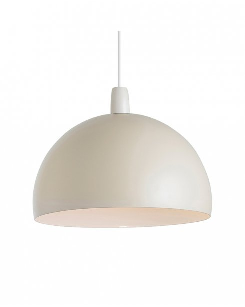 Endon Newsome Cream Metal Non-electric Pendant Shade NE-NEWSOME-CR