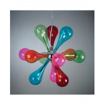 Endon Niven 9 Light Novelty Pendant Light NIVEN-9MULTI